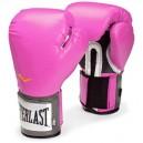 Rukavice Everlast Pro Style Training - růžové