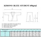 Kimono Blitz Student (Judo, Aikido) - dospělé