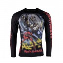 Rashguard Tatami - X Iron Maiden Number of the Beast