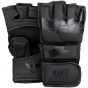 Rukavice MMA Ringhorns Charger - Black/Black