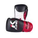 Boxerské rukavice King Pro Boxing - Black/Red/White