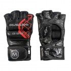 Rukavice MMA Musashi Combat 3 Black/Red