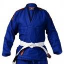 Kimono BJJ Tatami Fightwear - Nova - modré - Bílý pás BJJ zdarma