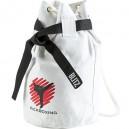 Bílý batoh přes rameno (pytel) - Kickboxing