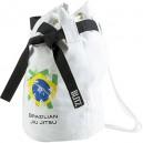 Bílý batoh přes rameno (pytel) - BJJ