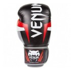 Rukavice Venum Elite Black/Red/Grey - Skintex