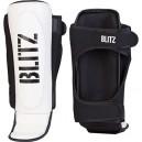 Chránič holení a nártů MMA Sabre, Blitz - White