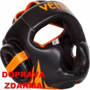 Přilba Venum Challenger Neo černo/oranžová