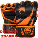 Prstové rukavice MMA VENUM Challenger Neo černo/oranžové