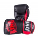 Boxerské rukavice King - Black/red