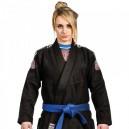 Dámské kimono Nova černé - Tatami Fightwear - bílý pás zdarma