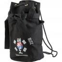 Černý batoh přes rameno (pytel) - Taekwondo